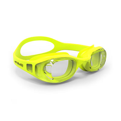 SWIMMING GOGGLES 100 XBASE EASY YELLOW