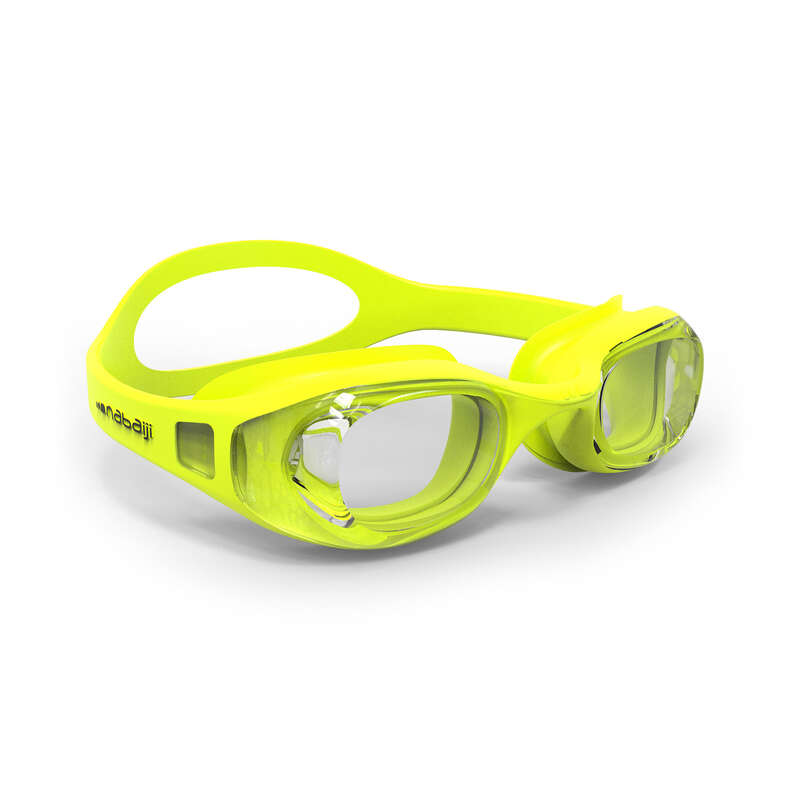 SWIMMING GOGGLES OR MASKS Swimming - GOGGLES XBASE EASY YELLOW NABAIJI - Swimming Accessories
