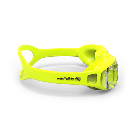 Xbase Easy Swimming Goggles Yellow Nabaiji