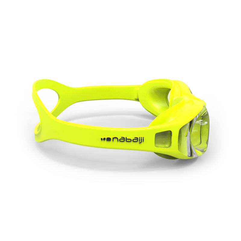 SWIMMING GOGGLES XBASE EASY TRANSLUCENT LENSES - YELLOW
