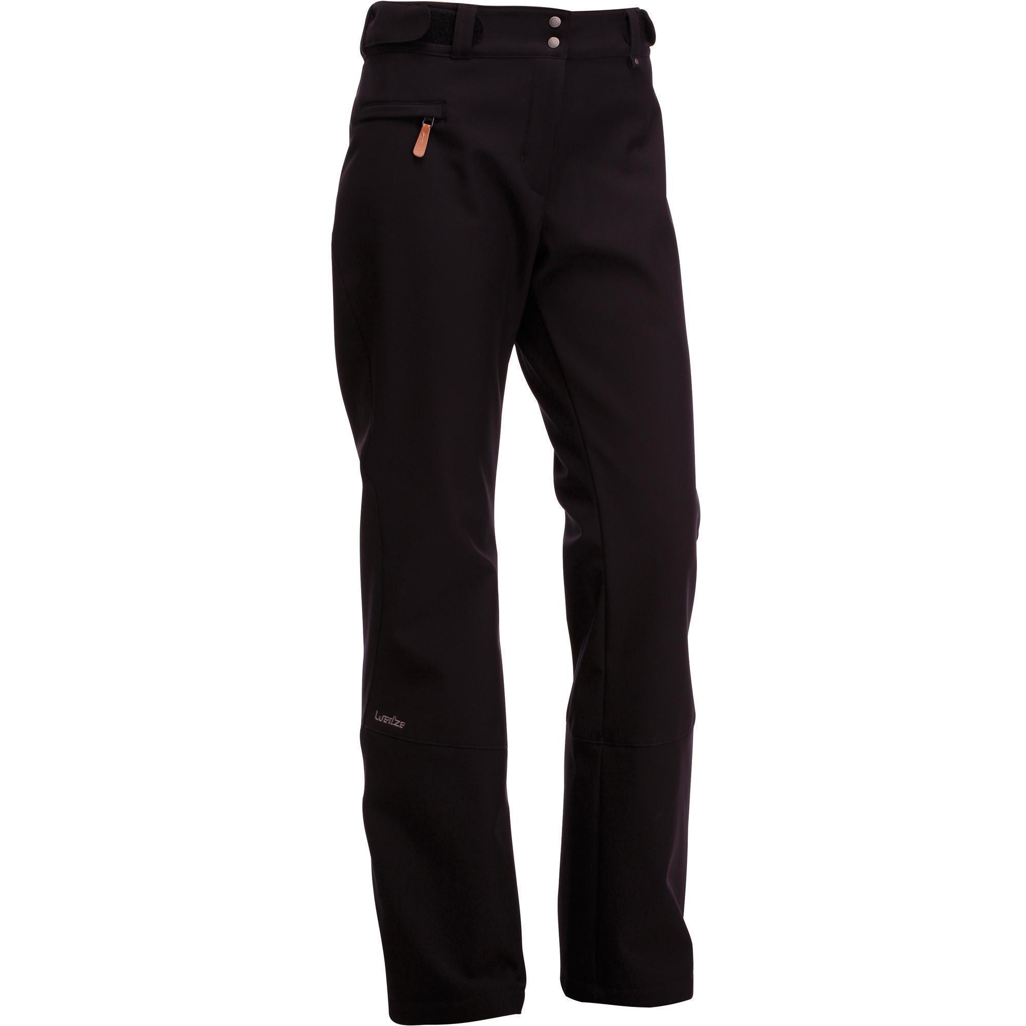 Pantalon ski femme Slide 500 noir | Wedze