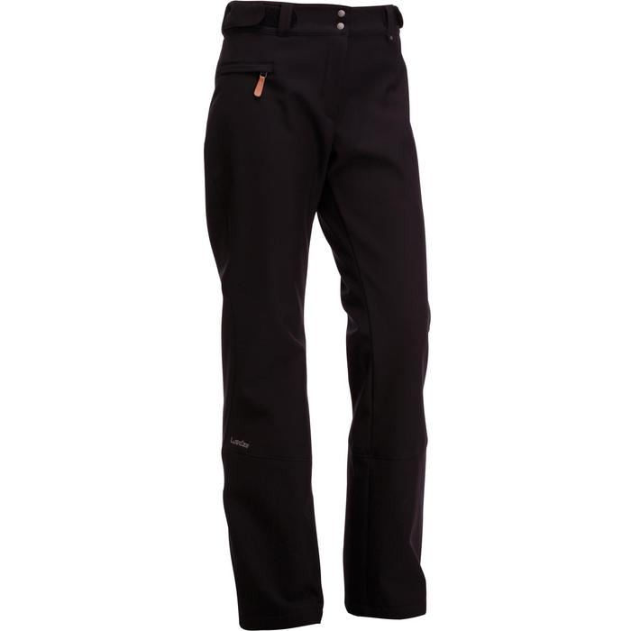 Women'S Piste Skiing Trousers Ski-P PA 580 Slim - Black