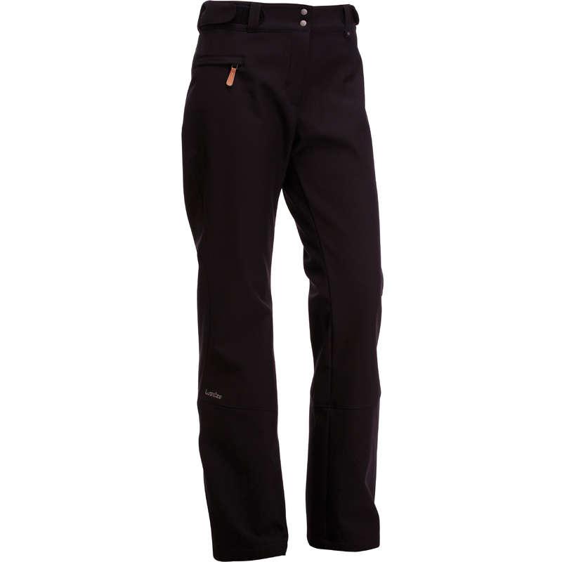 WOMEN'S JACKETS OR PANTS INTERMED SKIERS Skiing - Slide 500 Women's Ski Trousers - Black WEDZE - Ski Wear