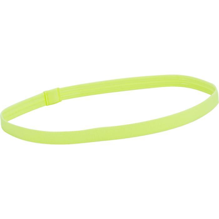 960 女童健身房運動頭帶 3入裝 - 黃色/黑色/橘色