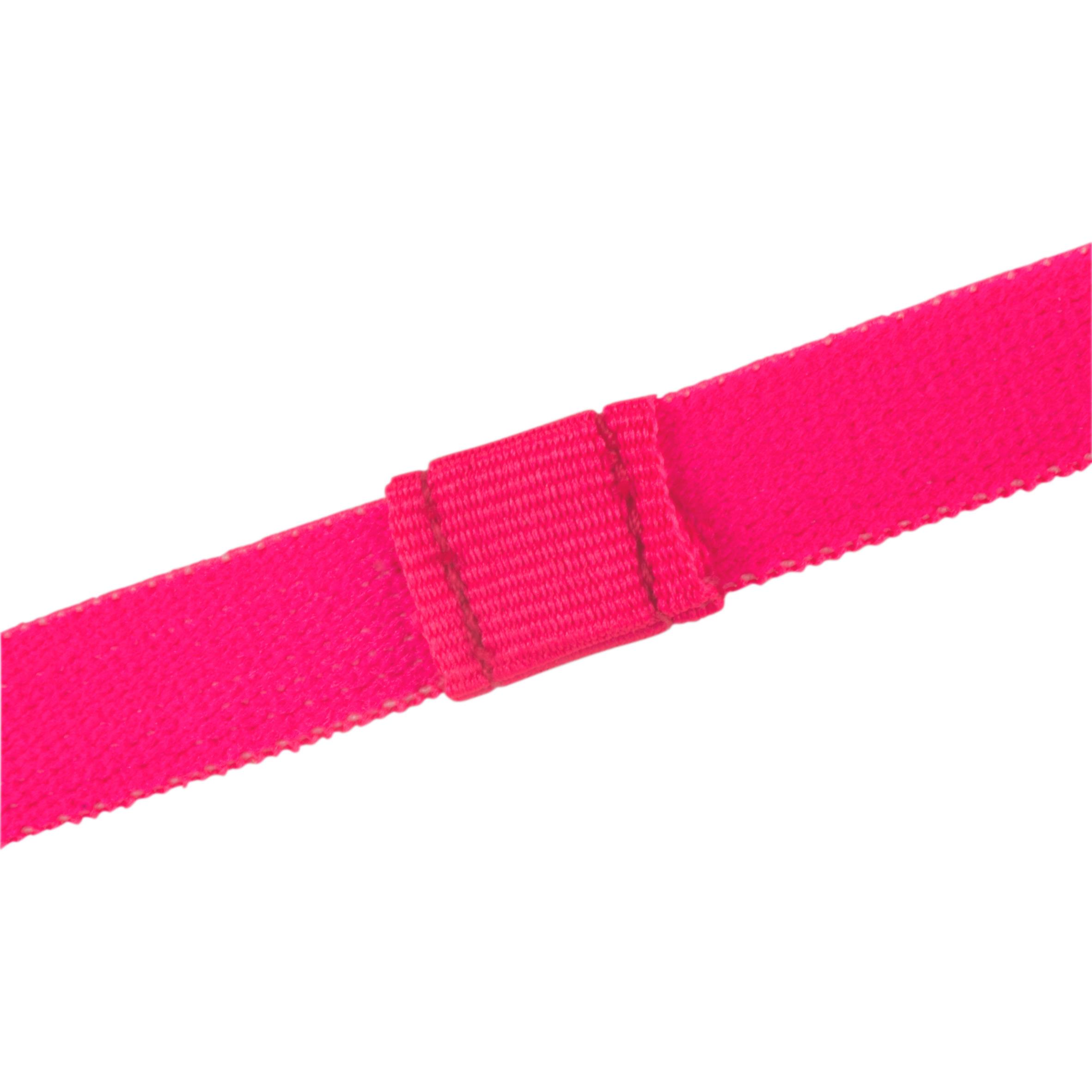 900 Girls' Gym Headbands Tri-Pack - Pink/Black/Blue