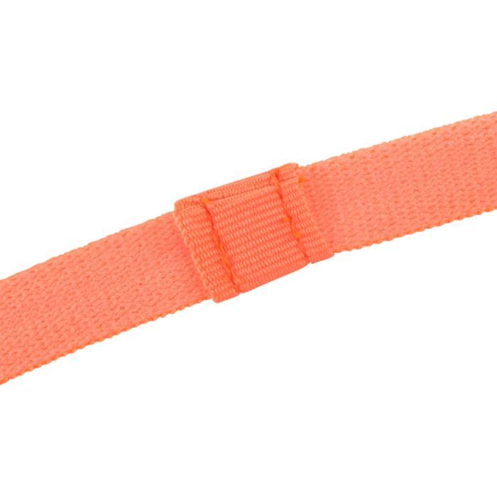 900 Girls' Gym Headbands Tri-Pack - Yellow/Black/Orange