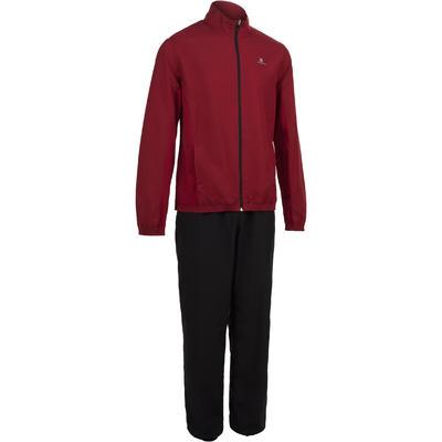 FJA 100 Cardio Fitness Tracksuit Jacket - Burgundy