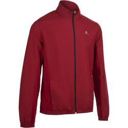 Trainingsjacke Fitness 100 Herren bordeaux