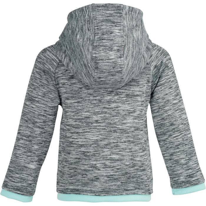 Veste 560 Gym Baby capuche gris
