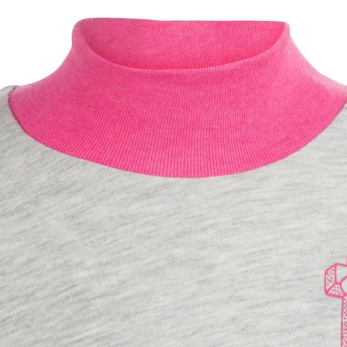 Lot x2 T-Shirt manches longues col montant imprimé Gym baby - 1239191