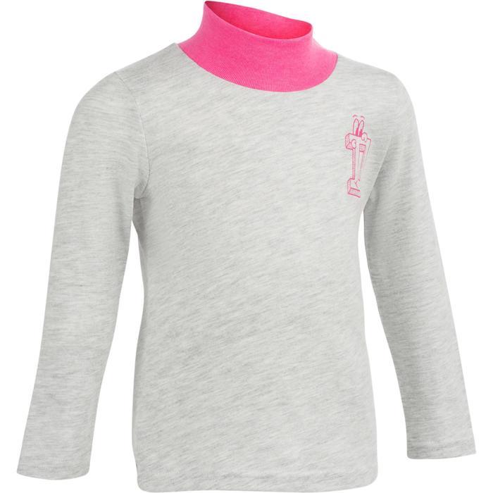Lot x2 T-Shirt manches longues col montant imprimé Gym baby - 1239192