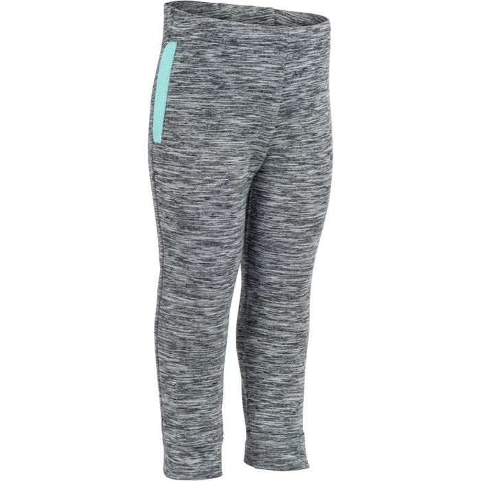 Pantalón 560 cálido gimnasia infantil gris