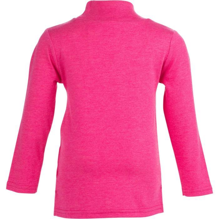 Lot x2 T-Shirt manches longues col montant imprimé Gym baby gris