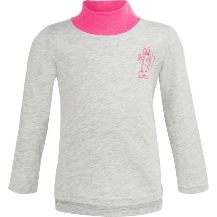 Lot x2 T-Shirt manches longues col montant imprimé Gym baby - 1239291