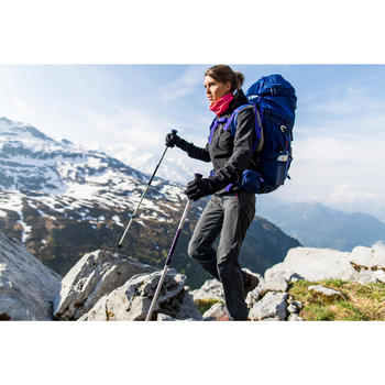 Veste trekking Windwarm 500 softshell femme - 1239329