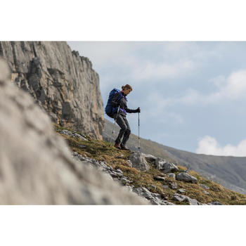 Guantes trekking montaña TREK 500 adulto caqui