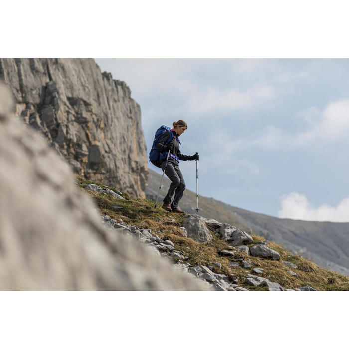 Veste trekking Windwarm 500 softshell femme - 1239351