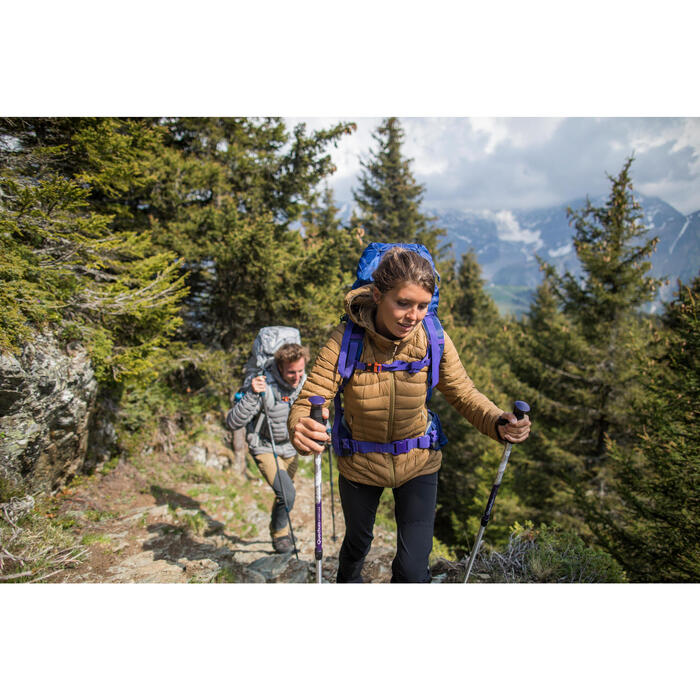 Doudoune trekking montagne TREK 500 femme - 1239359