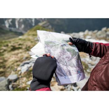Trekkingwanten voor in de bergen Trek 500 zwart