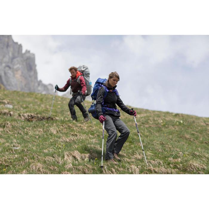 Veste trekking Windwarm 500 softshell femme - 1239411