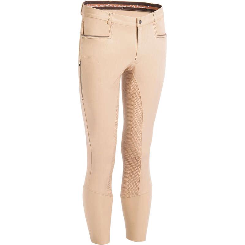 ABBIGLIAMENTO EQUITAZIONE UOMO Equitazione - Pantaloni 580 FULLGRIP beige FOUGANZA - Equitazione