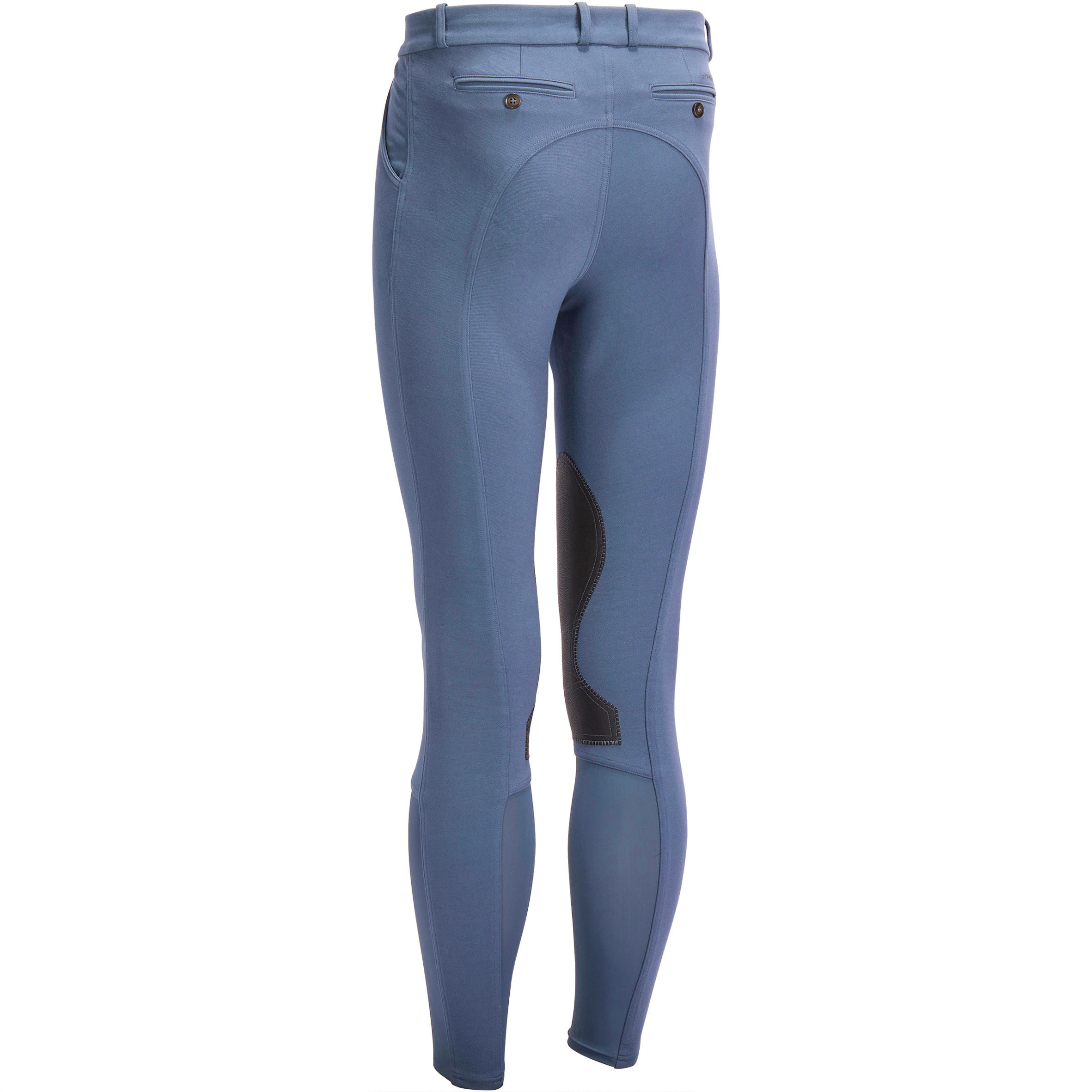 Adult Horse Riding BR 140 M Breeches SMG Blue/grey