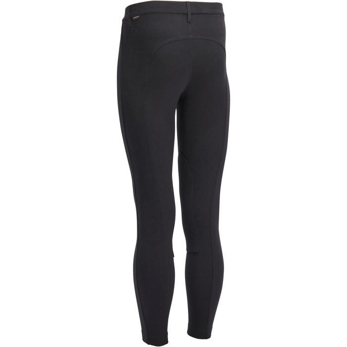 Pantalon équitation homme BR100 noir - 1239556