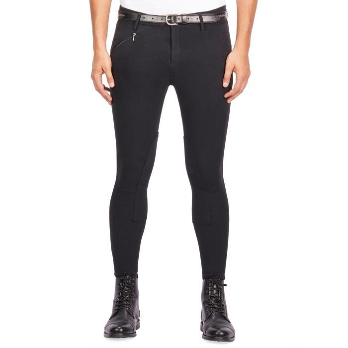 Pantalon équitation homme BR100 noir - 1239558