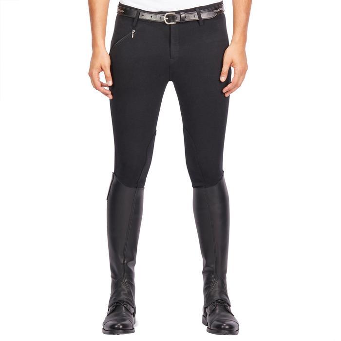 Pantalon équitation homme BR100 noir - 1239561