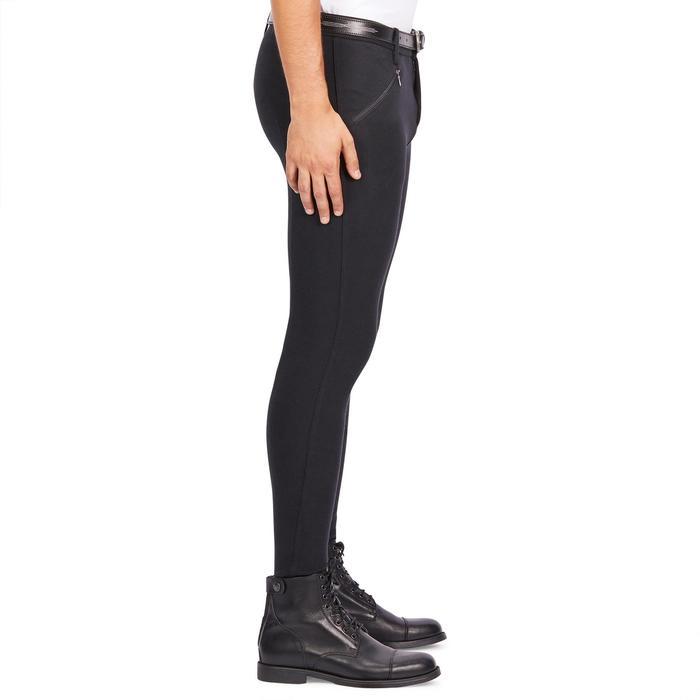 Pantalon équitation homme BR100 noir - 1239565
