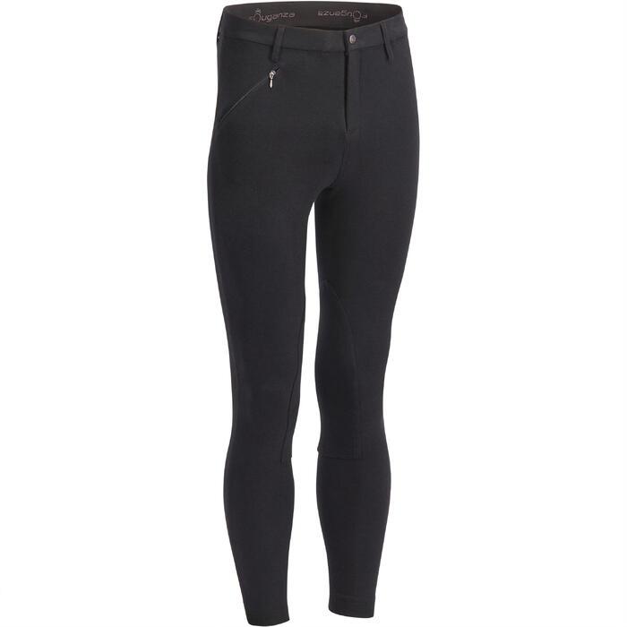 Pantalon équitation homme BR100 noir - 1239567