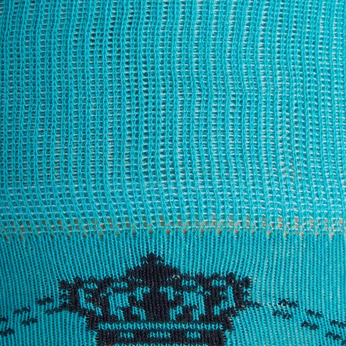 Rijkousen dames 500 LIGHT marineblauw en turquoise