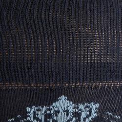 Chaussettes équitation femme 500 LIGHT marine et turquoise