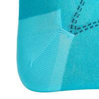 500 Light Women's Horseback Riding Socks - Navy/Turquoise