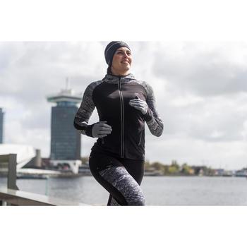 Run Warm+ Women's Running Tights - Black / Grey - 1239739