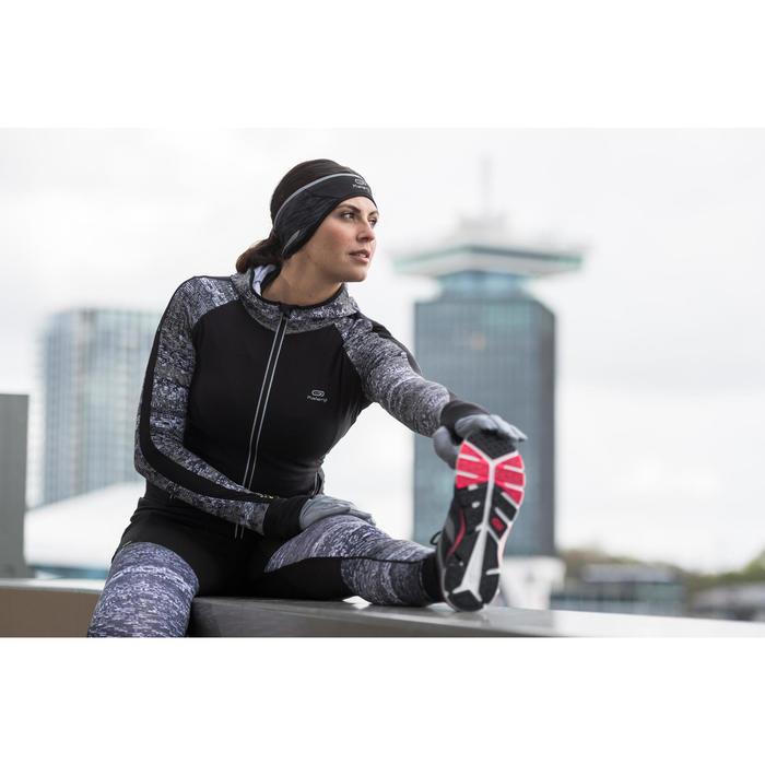 Run Warm+ Women's Running Tights - Black / Grey - 1239762