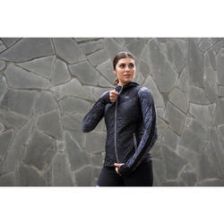 GILET SANS MANCHES JOGGING FEMME RUN WARM NOIR