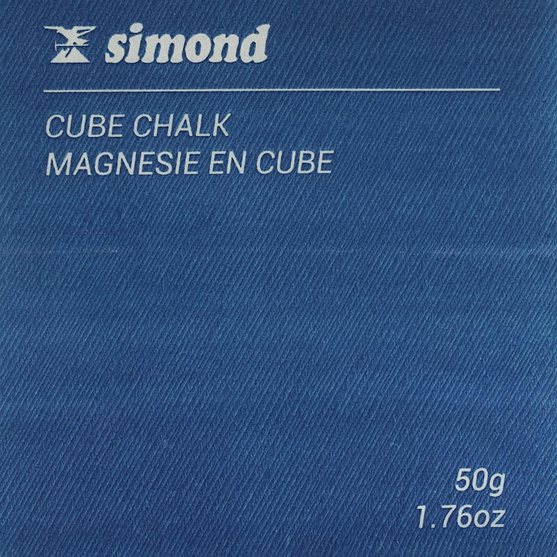 CLIMBING & MOUNTAINEERING CHALK CUBED 50 GRAMS