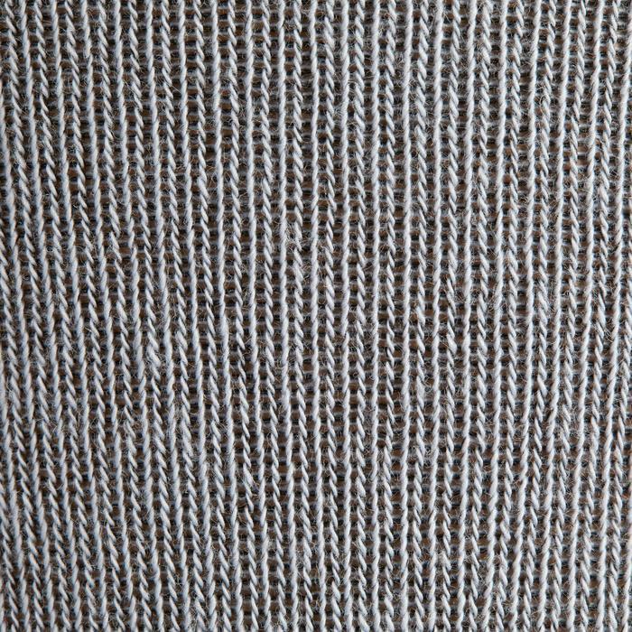Rijkousen dames 500 Grip grijs met donkergrijze siliconen patches