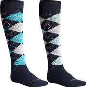 Modre jahalne nogavice LOSANGES za odrasle