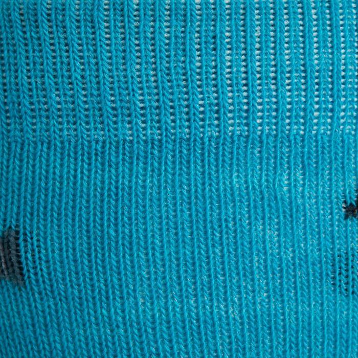 Chaussettes équitation 500 BABY rose et marine mini motifs x2 - 1240216