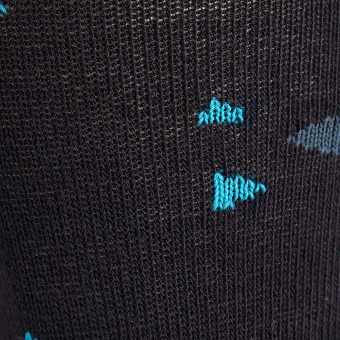 Chaussettes équitation 500 BABY rose et marine mini motifs x2 - 1240221
