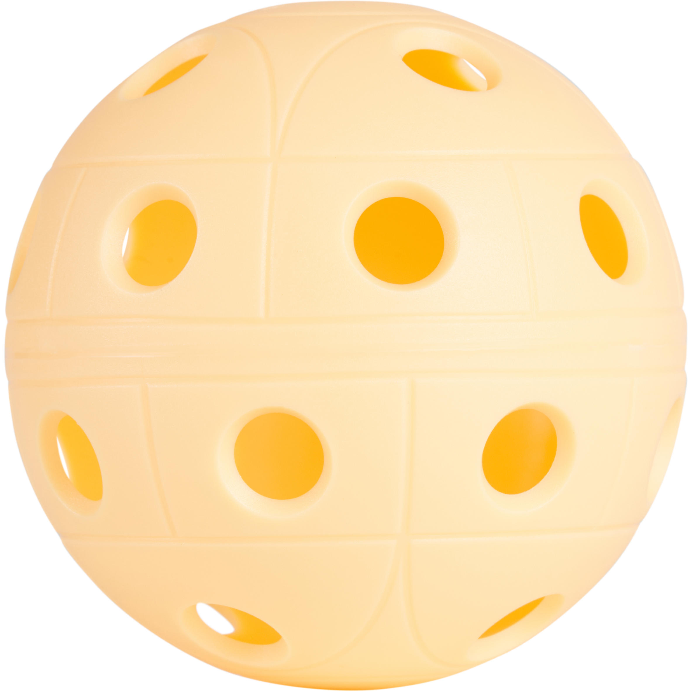 Oroks Floorball bal 500 abrikoos