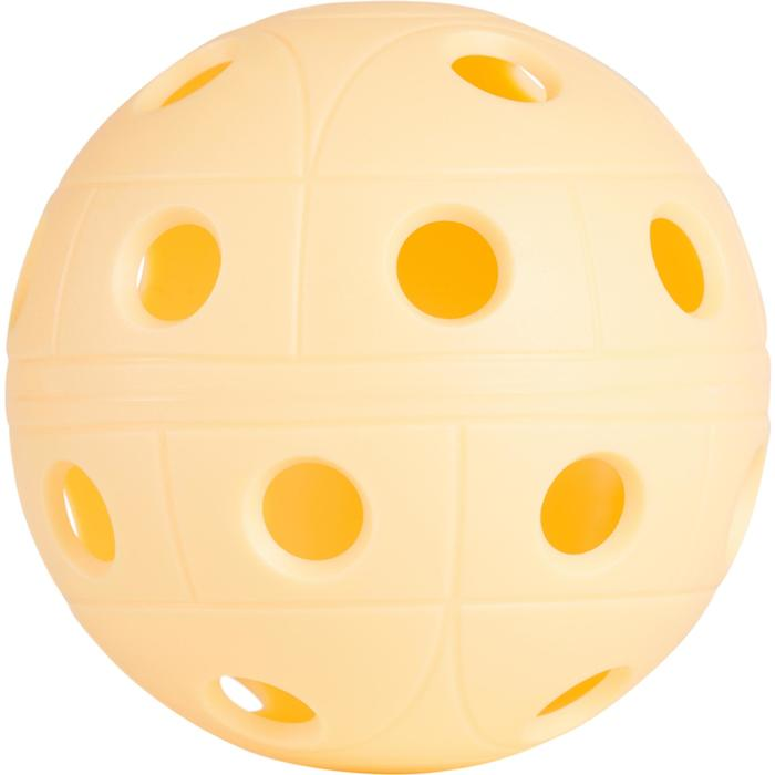 PELOTA FLOORBALL 500 ALBARICOQUE