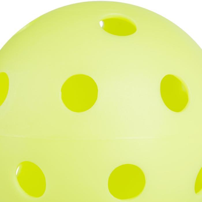 BALLE FLOORBALL 100  VANILLE - 1240324