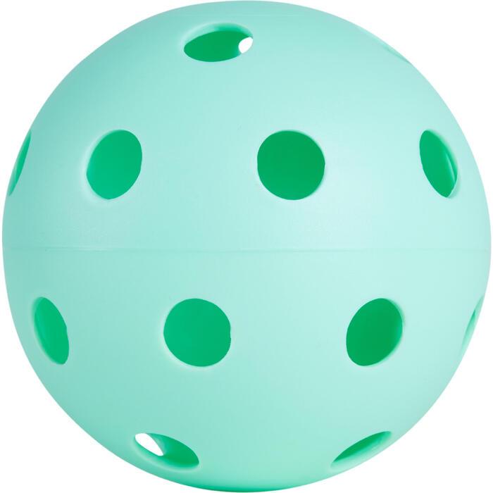 BALLE FLOORBALL 100  VANILLE - 1240424