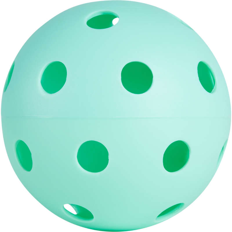Floorball Monopattini, Roller, Skate - Palla floorball 100 azzurra OROKS - Hockey su ghiaccio