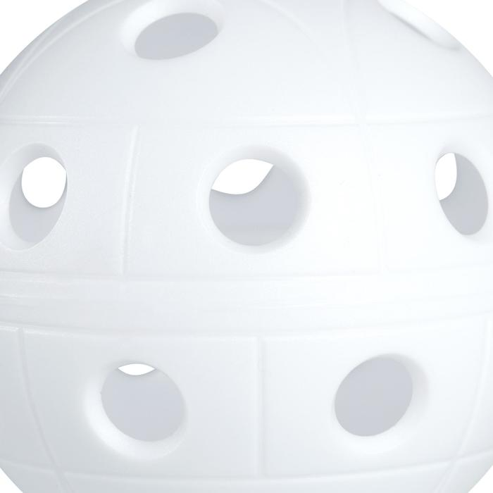 PELOTA FLOORBALL 500 BLANCO