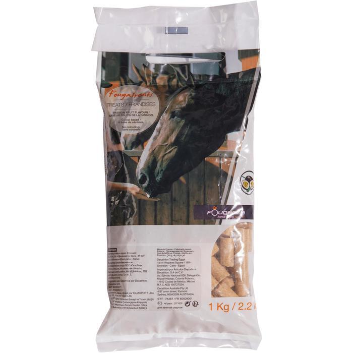 Snoepjes ruitersport paard en pony Fougatreats passievrucht - 1 kg