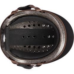 Reithelm C120 braun/schwarz